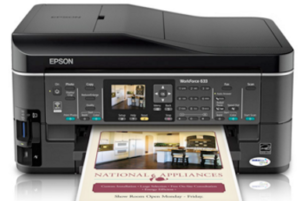 Epson WorkForce 633 Driver Download